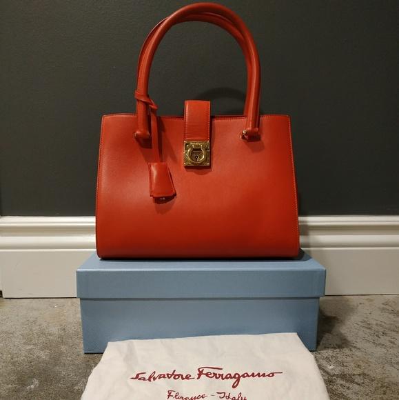 Salvatore Ferragamo Handbags - Salvatore Ferragamo Satchel